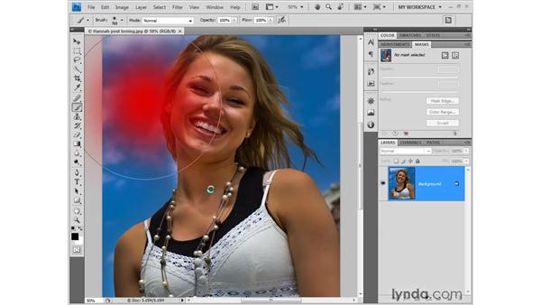 Scaling a brush: Photoshop CS4 New Features