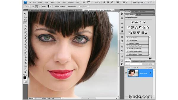 Spring-loaded tools: Photoshop CS4 New Features