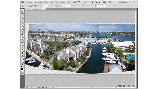 Panoramic vignette removal: Photoshop CS4 New Features