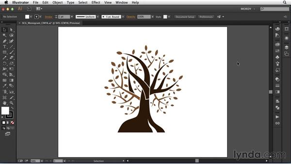 Next steps: Drawing a Wedding Monogram in Illustrator