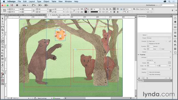 Creating your own motion paths: Creating Animations with Adobe InDesign CC