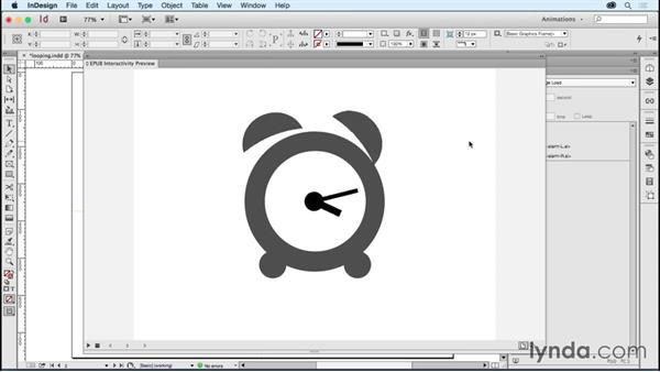 Looping and timing-linked objects: Creating Animations with Adobe InDesign CC