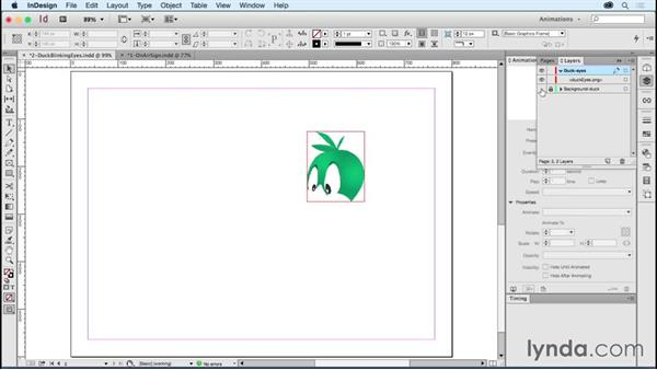 Building things that blink: Creating Animations with Adobe InDesign CC