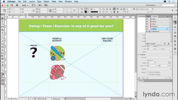 Working with grouped animations in MSOs: Creating Animations with Adobe InDesign CC
