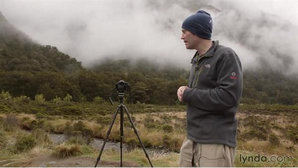 Shooting a misty mountain scene in the fjords: Photographing the Fjords of New Zealand
