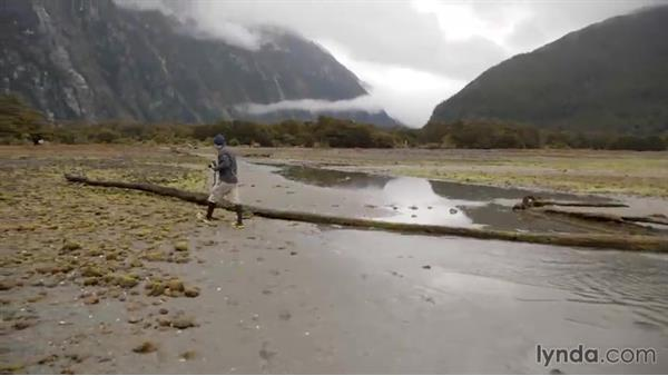 Reviewing the final selects from the fjord shoot: Photographing the Fjords of New Zealand