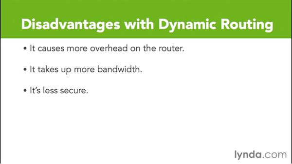 Dynamic routing: Cisco Certified Entry Networking Technician Essential Training