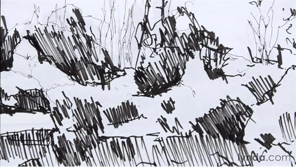 Light and shadow: Foundations of Drawing: Sketching the Landscape