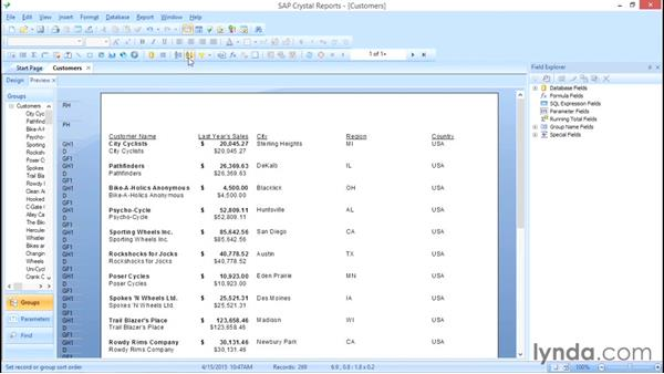 Working with conditions on the experts: Crystal Reports 2013: Experts and Customizing Reports
