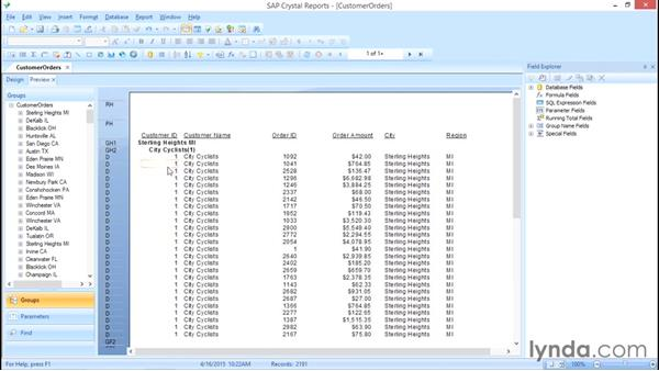 Using totext to convert numbers to text and remove decimals: Crystal Reports 2013: Experts and Customizing Reports