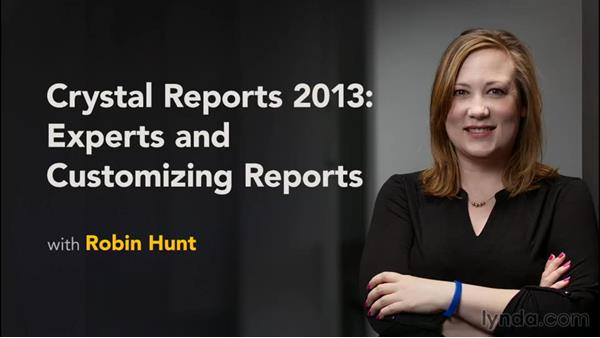 Next steps: Crystal Reports 2013: Experts and Customizing Reports