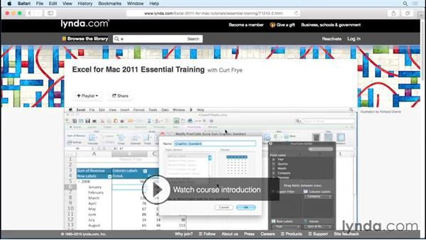 What you should know: Excel for Mac 2011 Tips and Tricks