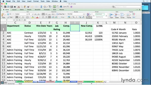 Using the exercise files: Excel for Mac 2011 Tips and Tricks