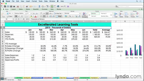 Undoing, redoing, and repeating recent actions with keystrokes: Excel for Mac 2011 Tips and Tricks