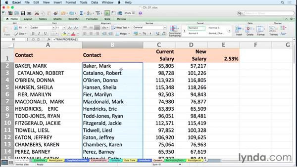 Converting formulas to values with a simple right-drag: Excel for Mac 2011 Tips and Tricks