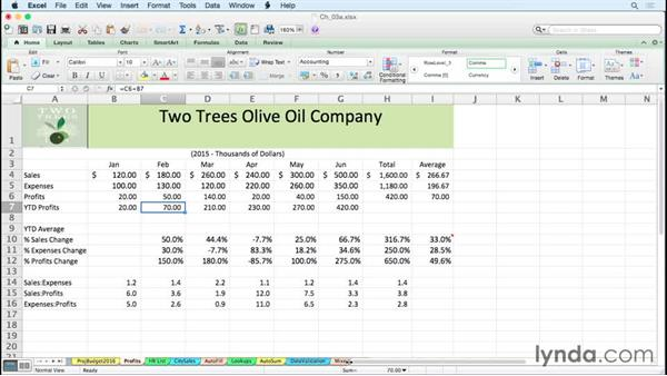 Moving between worksheets efficiently: Excel for Mac 2011 Tips and Tricks