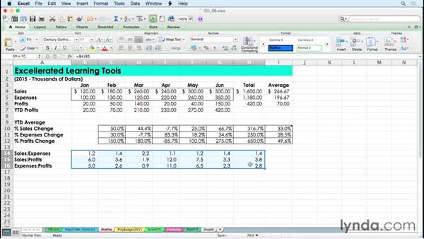 Changing strikethrough and borders with keystroke shortcuts: Excel for Mac 2011 Tips and Tricks