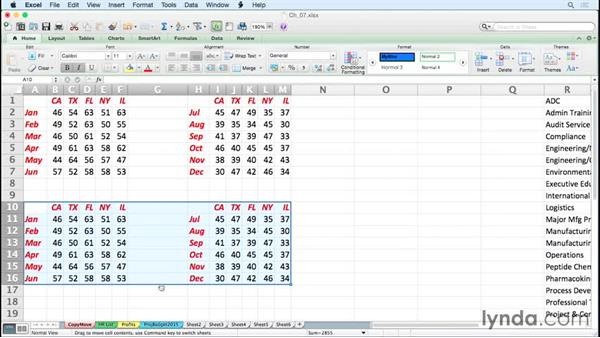 Accelerating copy and move tasks: Excel for Mac 2011 Tips and Tricks