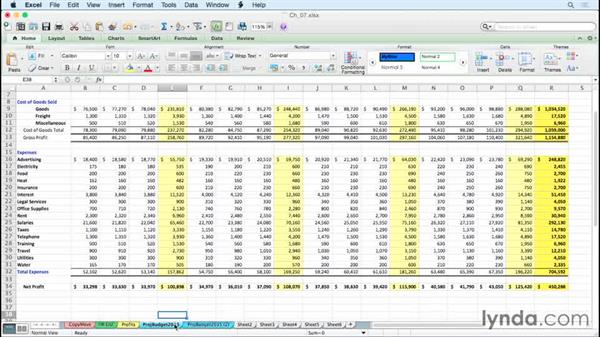 Copying and moving worksheets quickly: Excel for Mac 2011 Tips and Tricks