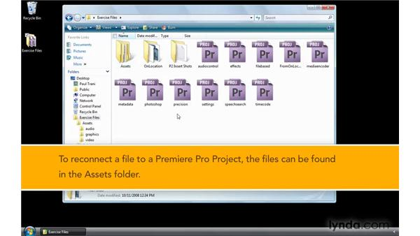 Using the example files: Premiere Pro CS4 New Features