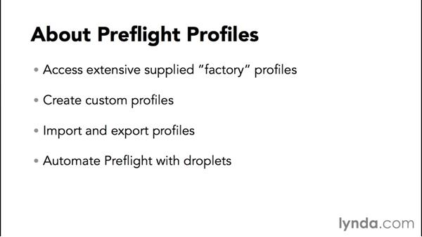 Understanding the difference between analysis and fixups: Preflight and Print Production with Acrobat