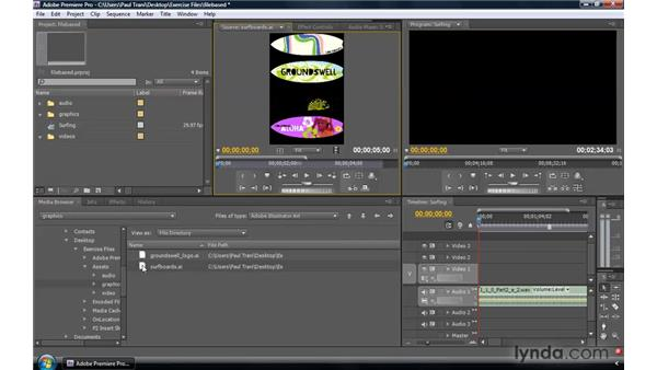 File-based workflows: Premiere Pro CS4 New Features
