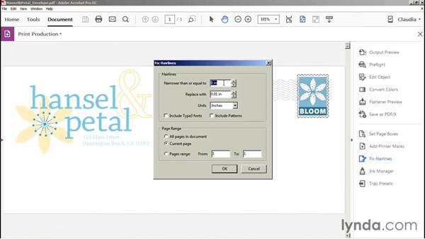 Fixing basic hairline artwork: Preflight and Print Production with Acrobat