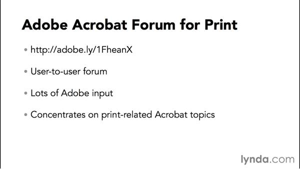 Next steps: Preflight and Print Production with Acrobat