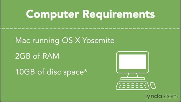 Yosemite Server installation requirements: OS X Server Essential Training: Yosemite Edition