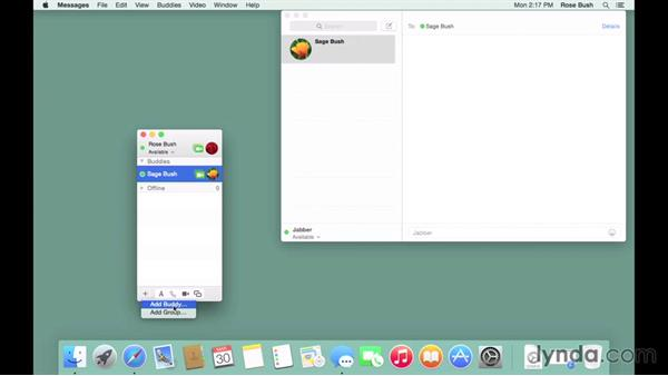 Sending private, encrypted messages: OS X Server Essential Training: Yosemite Edition