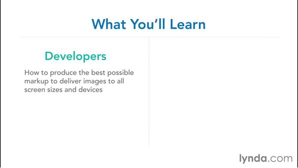 Who is this course for?: Responsive Images