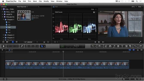 Welcome: Final Cut Pro X Guru: Color Correction