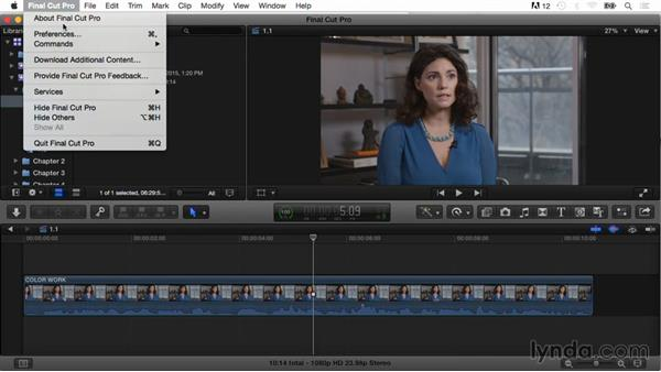 What you should know before watching this course: Final Cut Pro X Guru: Color Correction