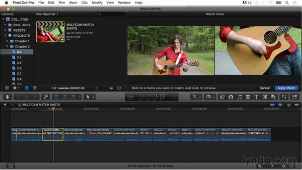 Matching color: Final Cut Pro X Guru: Color Correction