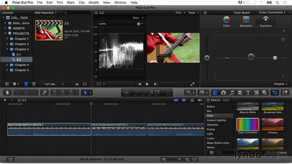 Manually matching color of shots: Final Cut Pro X Guru: Color Correction