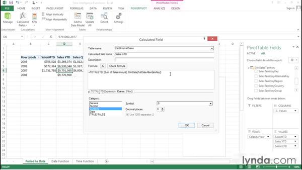Working with DATESINPERIOD functions: Excel Power Pivot DAX in Depth