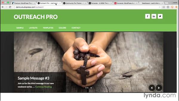 Roundup of suitable themes: WordPress and Genesis DIY: Small Business Website
