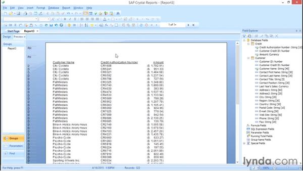 Understand the different join types: Crystal Reports 2013: Linking, Nulls, and Letter Writing