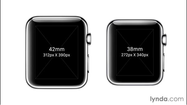 Apple Watch UI layout principles: Developing for Apple Watch First Look