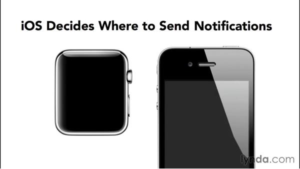 Using notifications on Apple Watch: Developing for Apple Watch First Look