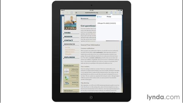 Printing with AirPrint: Mobile for Business: Setting Up Your iPad and iPhone