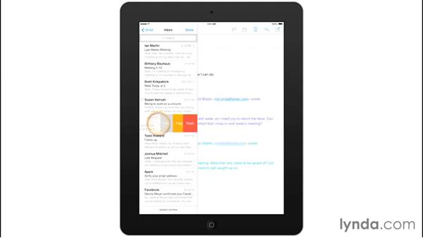 Customizing Mail options: Mobile for Business: Setting Up Your iPad and iPhone
