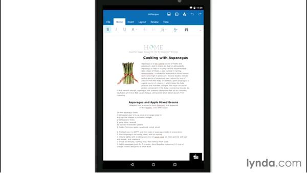 Microsoft OneDrive: Mobile for Business: Using Productivity Apps