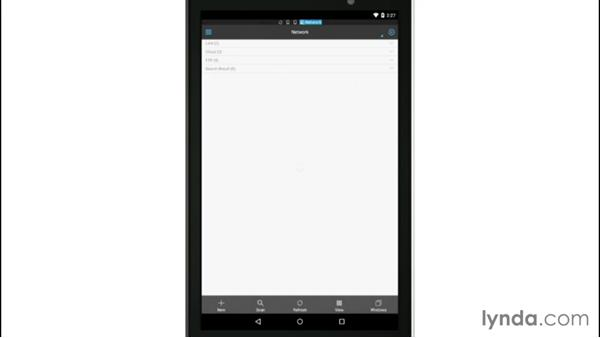 Using file management apps on Android: Mobile for Business: Using Productivity Apps