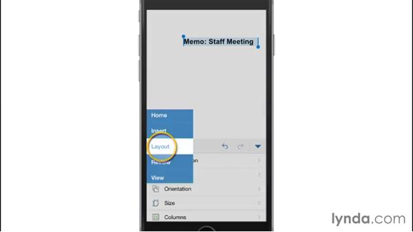 Microsoft Office for iPhone: Mobile for Business: Using Productivity Apps