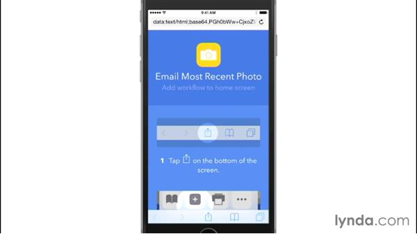 Automating actions with the Workflow app on iOS: Mobile for Business: Using Productivity Apps