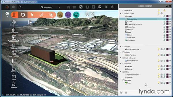 Understanding the InfraWorks model: Proposed features: InfraWorks Essential Training
