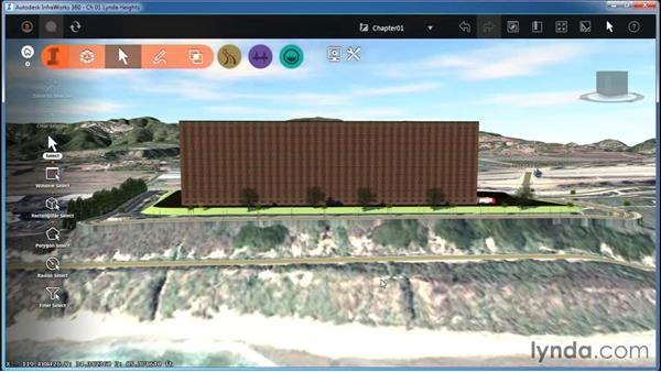 Creating and using bookmarks: InfraWorks Essential Training