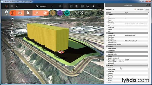 Properties and data tables: InfraWorks Essential Training