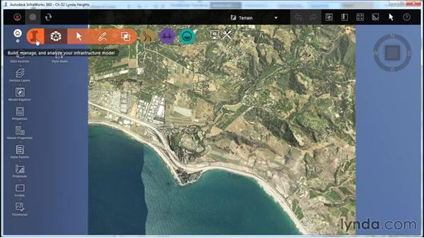 Set the Model Extent: InfraWorks Essential Training